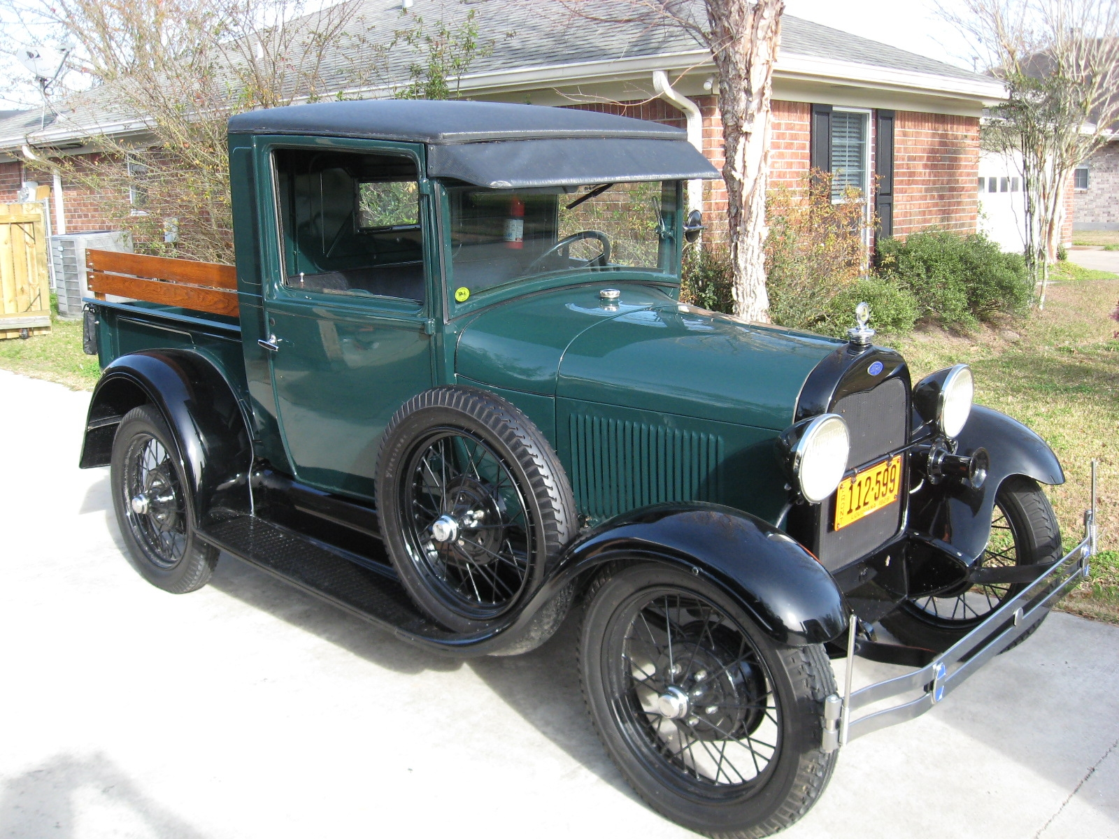 1929 Ford Closed Body Pickup