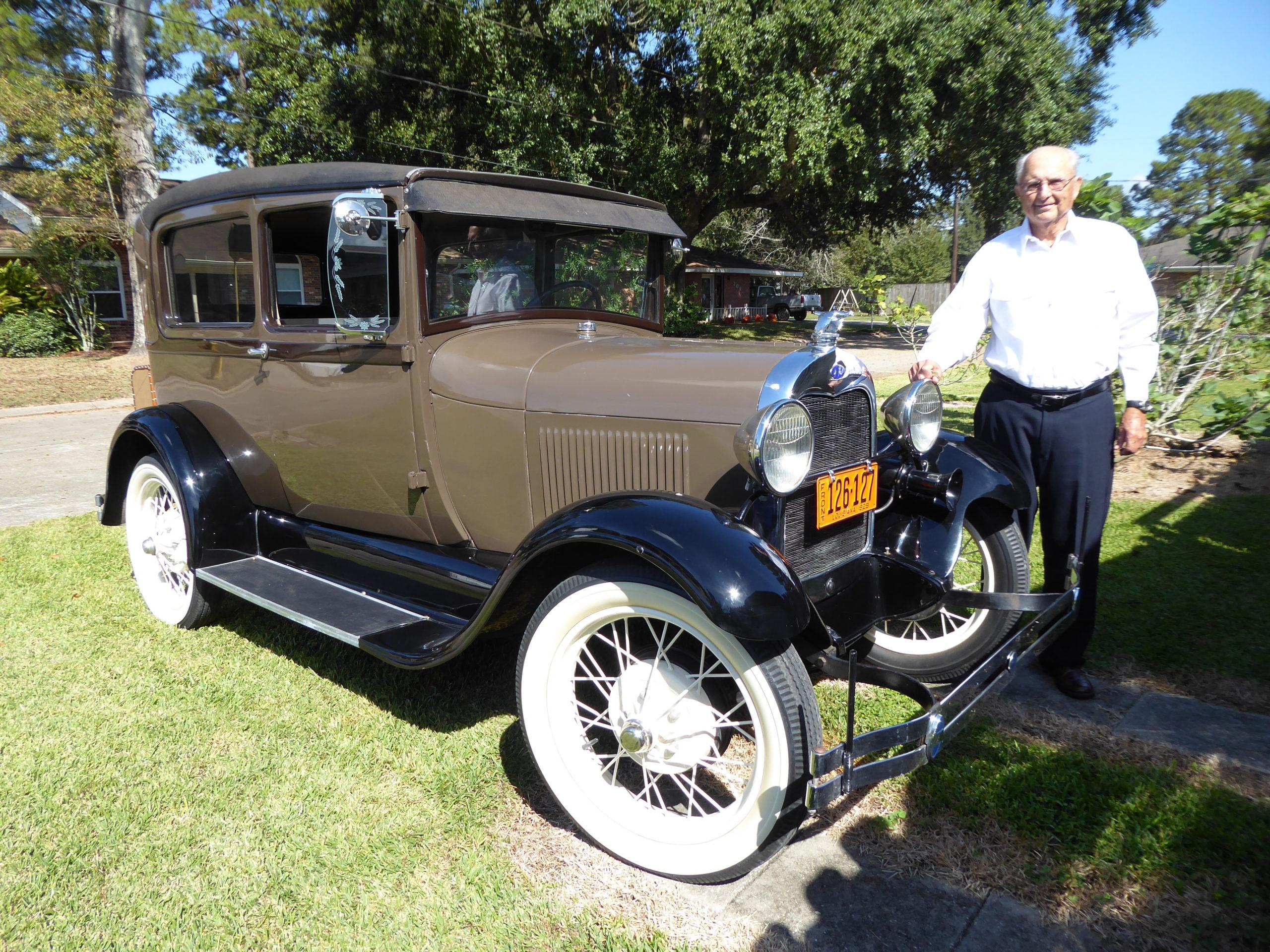1929 Tudor Sedan Ford Model A